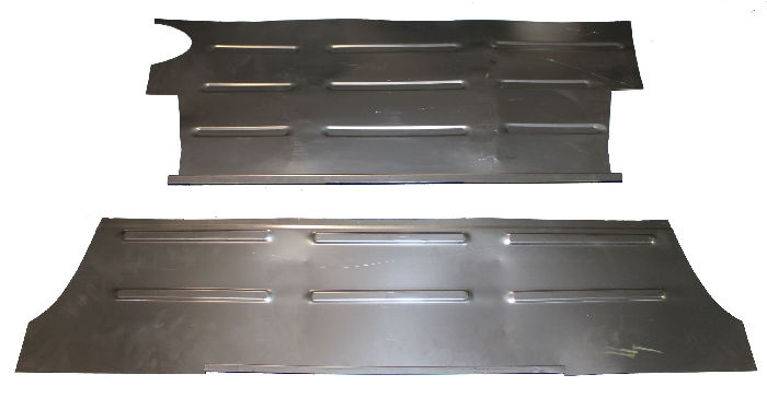 Chevrolet Parts -  Trunk Floor Repair Panels (2 Piece Set) Sedan Or Coupe
