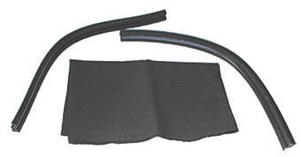 Chevrolet Parts -  Quarter Glass Seal, Leading Edge For Hardtop & Convertible