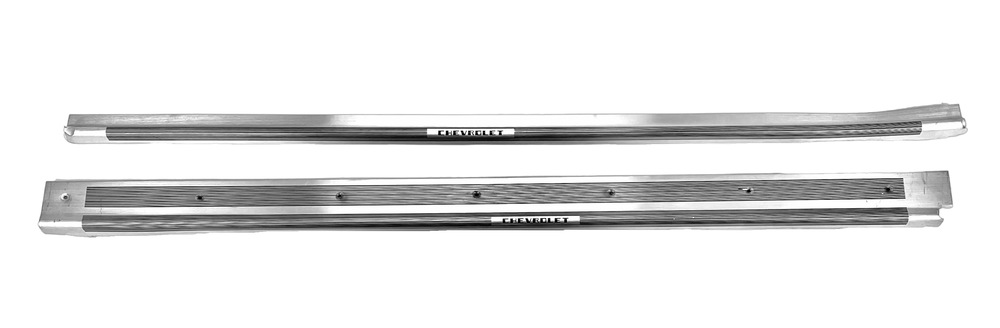 Chevy Parts 187 Sill Plates Cabriolet Aluminum