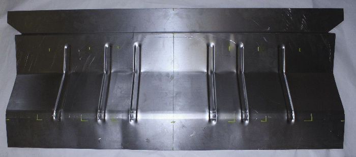 Chevrolet Parts -  Floor Repair Panel. Under Rear Seat