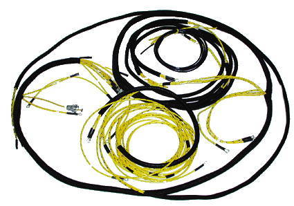 chevy parts electrical wiring chevs of the 40s 1958 Chevy Suburban chevrolet parts wiring harness main original cloth covered chevy truck