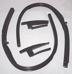 Chevy Parts 187 Front Door Vent Rubber Amp Vertical Seal