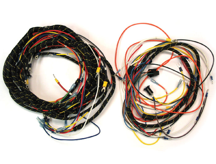 wiring harness plastic chevy parts » wiring harness, main - for generator and ... #14