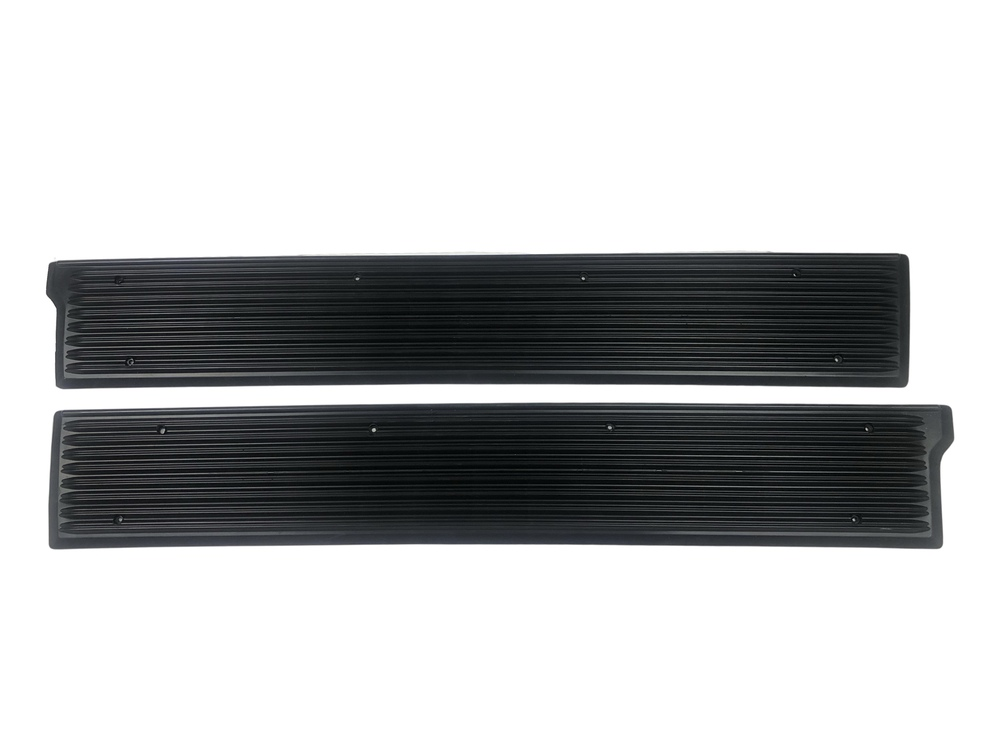 Chevrolet Parts -  Sill Plates -Rubber, Front. Sedan Delivery, Wagon & 4-Door