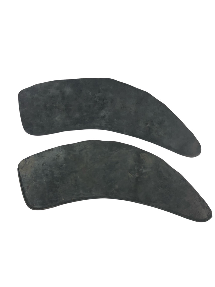Chevrolet Parts -  Gravel Shields (Rubber) 49-50 2-Door, Glue On