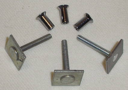 Chevrolet Parts -  Windshield Center Divider Moulding -Nuts & Bolts