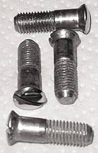 Chevrolet Parts -  Door Latch Striker Screws -(Stainless Steel)
