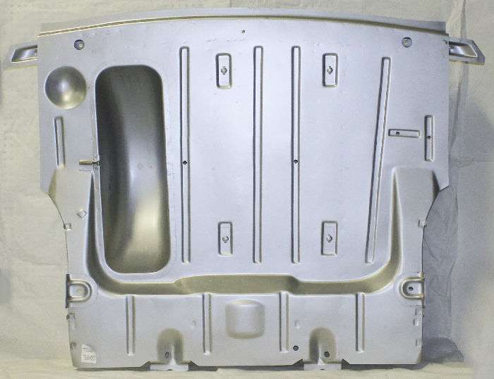 Chevrolet Parts -  Trunk Floor, Complete Pan With Braces