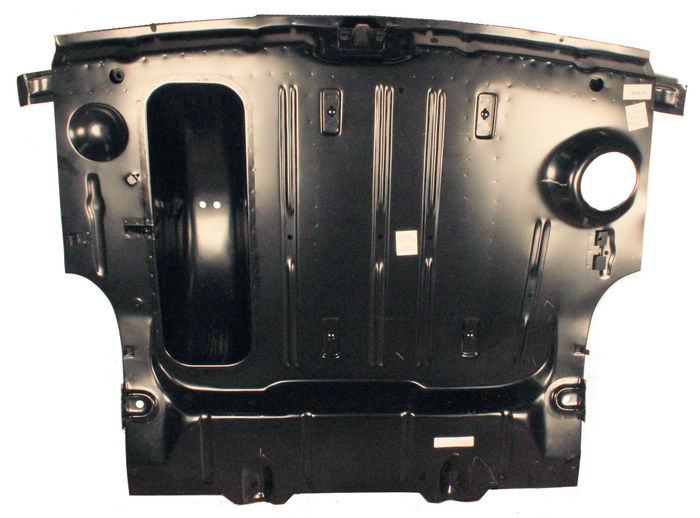 Chevrolet Parts -  Trunk Floor Pan, Complete, With Braces