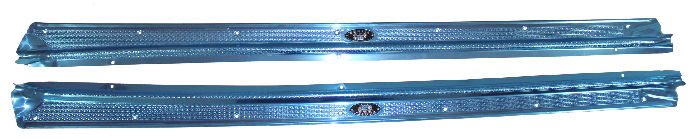 Chevrolet Parts -  Sill Plates, 2-Door -Aluminum -Except Convertible & Sedan Delivery