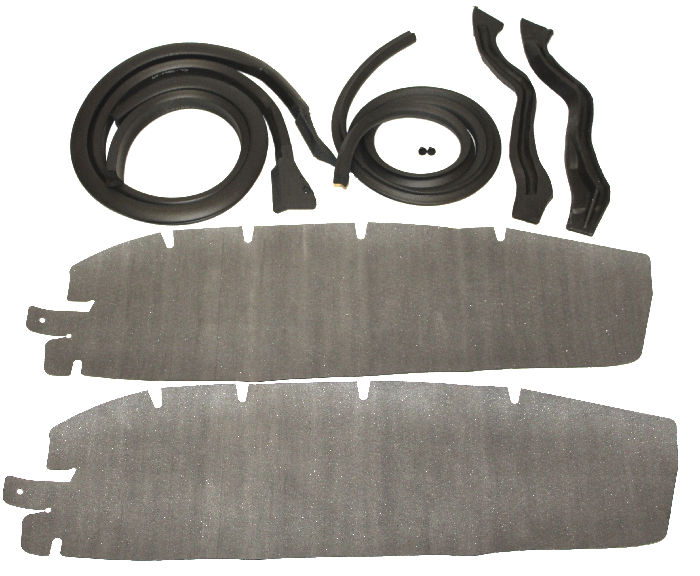 Chevrolet Parts -  Weatherstrip, Door -Front , Hardtop & Convertible With 4589811