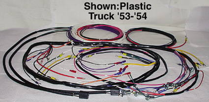 chevy parts electrical wiring chevs of the 40s rh chevsofthe40s com gm wiring harness repair parts Chevy Wiring Harness