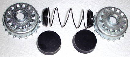 "Chevrolet Parts -  Wheel Cylinder Rebuild Kit -Rear (1-1/8"" Bore) Chevy '49-50"