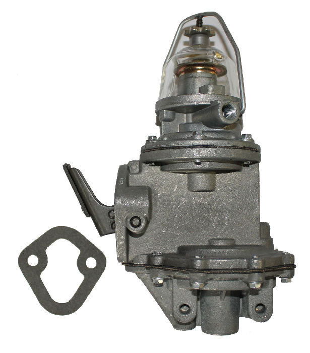 Chevrolet Parts -  Fuel Pump With Vacuum Pump (Glass Bowl)