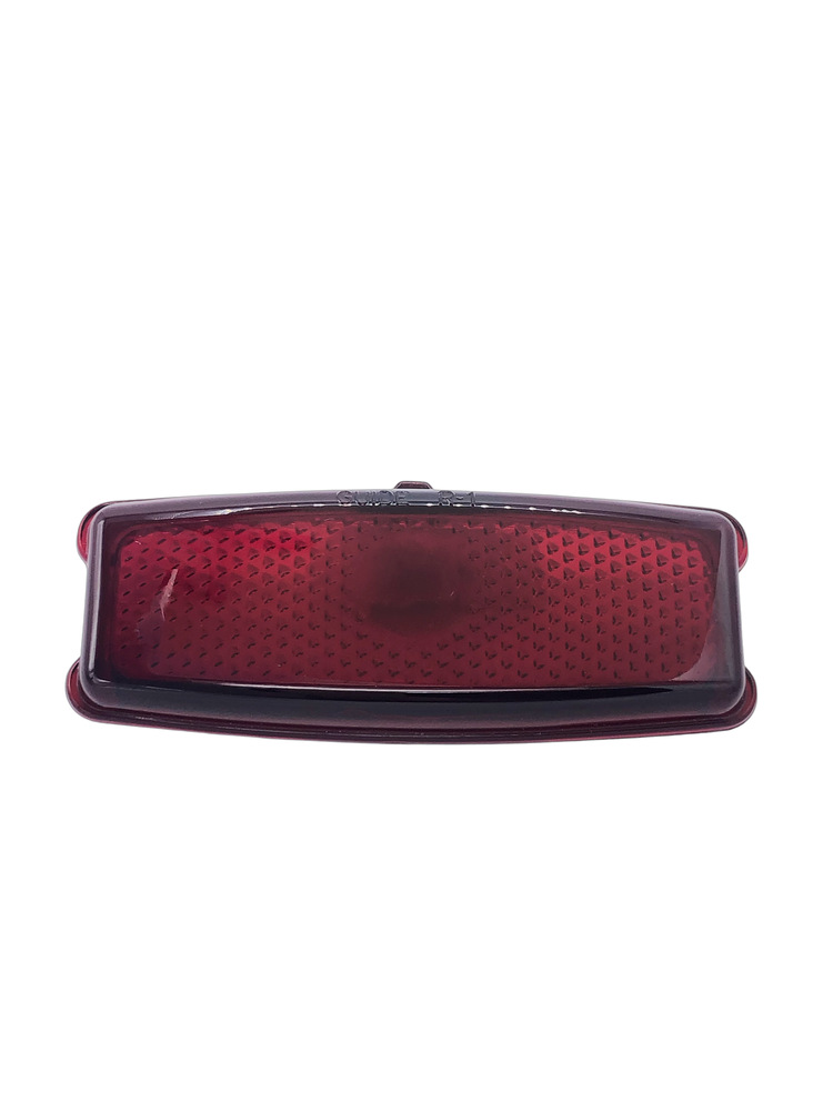 Chevrolet Parts -  Lens - Tail Light Glass Script (Except Fleetline 4-Door, Sedan Del & Wagon)
