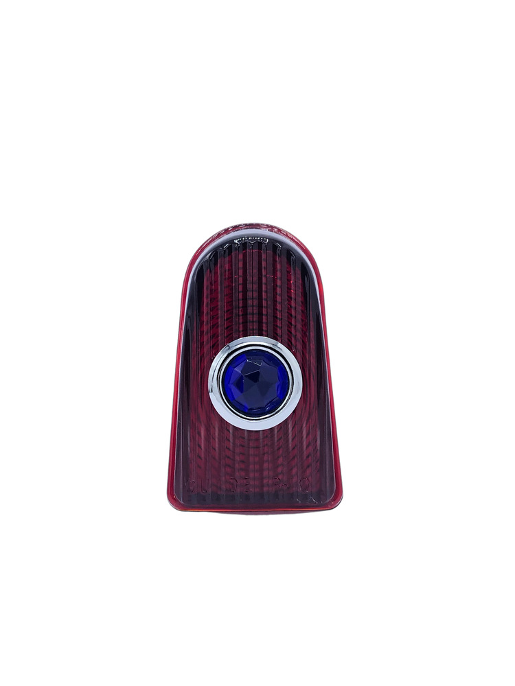 Chevy Parts 187 Lens Tail Light Glass With Blue Dot