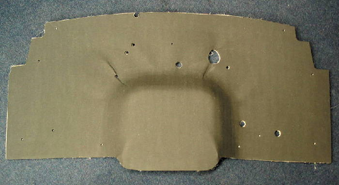 Chevrolet Parts -  Firewall Insulation Pad & Cover (Fiber Board)