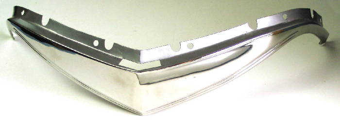 Chevrolet Parts -  Grill Moulding -Upper, Polished Stainless Steel