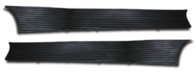 Chevrolet Parts -  Running Board Mats (Steel Back With Twist Tab)