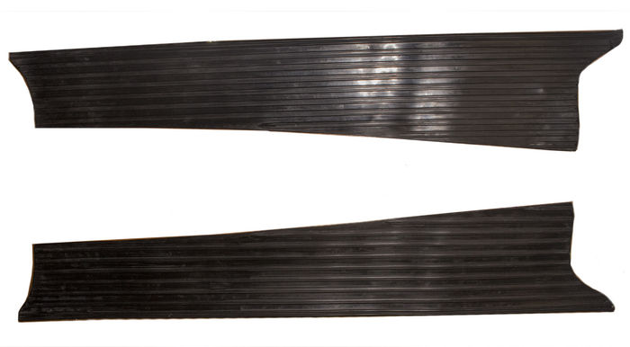 Chevrolet Parts -  Running Board Mat- Rubber Only For Smooth Running Boards