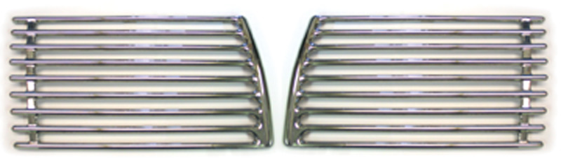 Chevrolet Parts -  Grilles, Accessory Fender  -Polished Stainless Steel