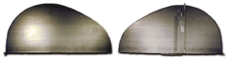 Chevy Parts » Fender Skirts 1936-48 (Teardrop Style)