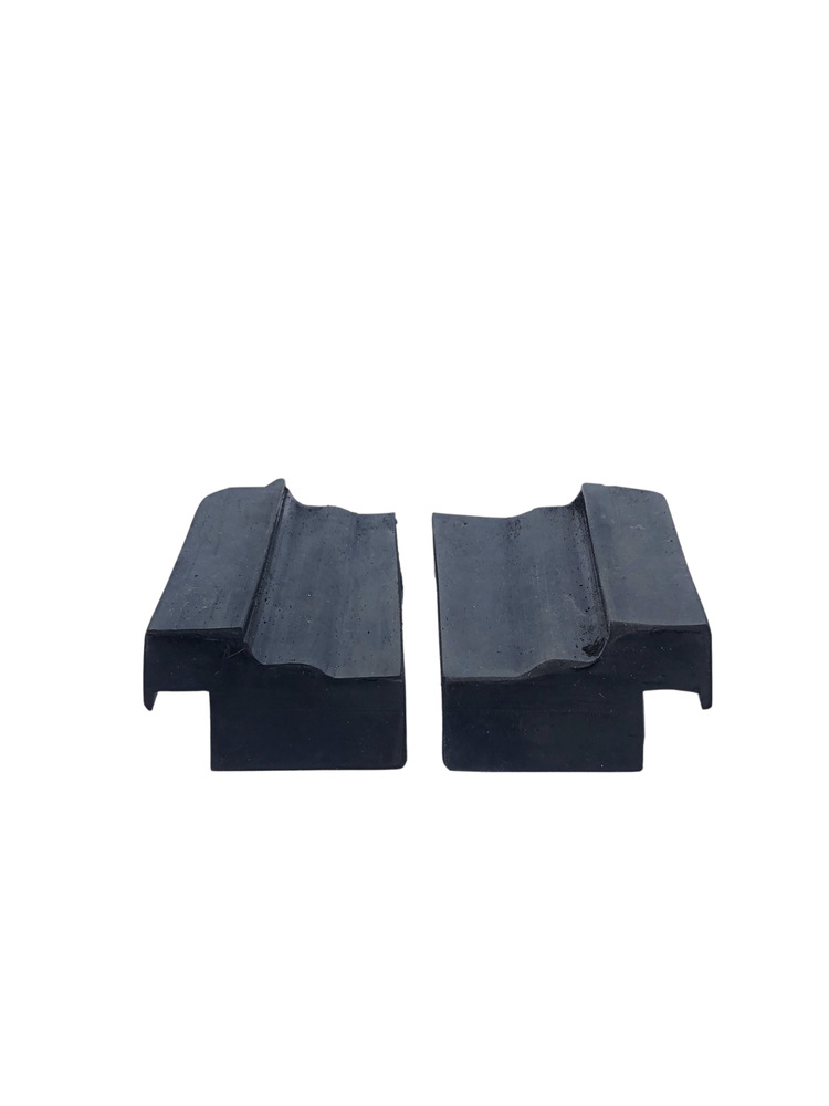 Chevrolet Parts -  Foot Scraper Rubber Blocks -Front