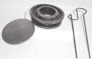 Chevrolet Parts -  Horn Button Assembly (Cap, S-Wire, Rubber Button)