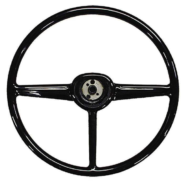Chevy Parts 187 Steering Wheel Black Superior