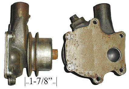 Chevrolet Parts -  Water Pump ($150 Core Charge)