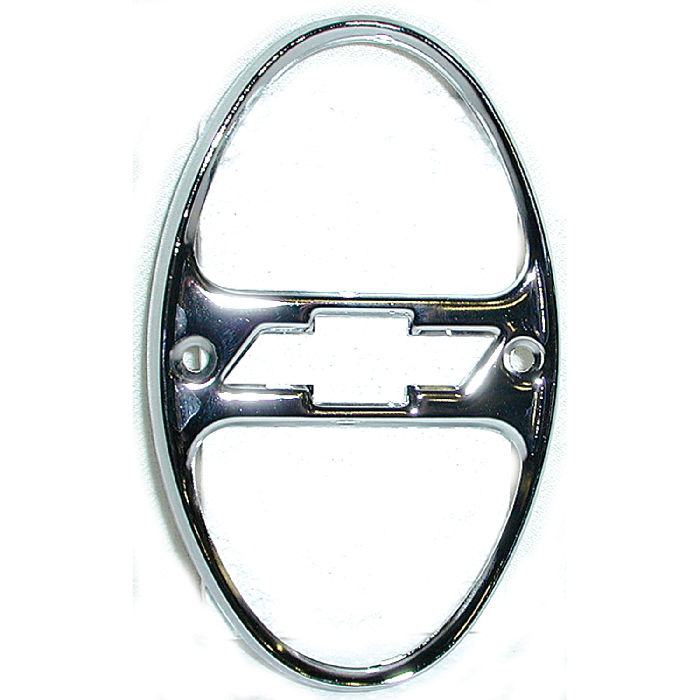 Chevrolet Parts -  Rim - Taillight, Chrome With Bowtie Center