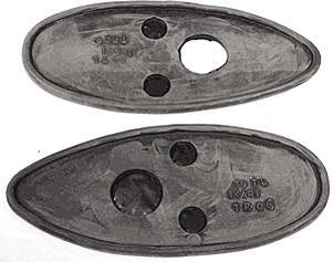 Chevrolet Parts -  Pads - Tail Light (Round Light)