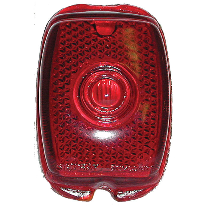 Chevrolet Parts -  Lens - Tail Light (Script Glass)