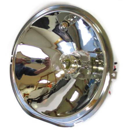 Chevy Parts 187 Reflector Headlight With Bulbs 12v