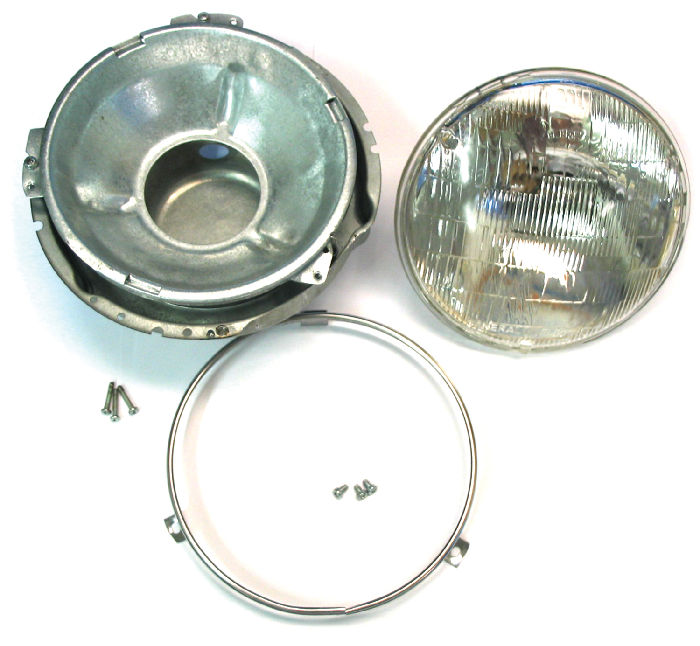 Chevy Volt Wheels >> Chevy Parts » Headlight Conversion, 7 inch Sealed Beam Kit ...