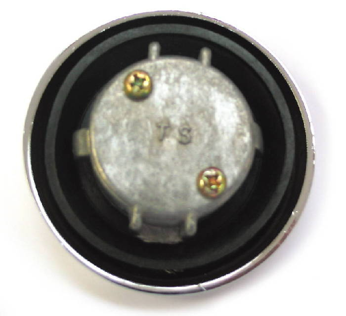 Chevy Parts 187 Gas Cap Locking With Bowtie Inside Flange
