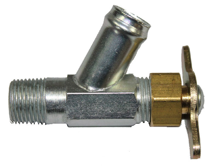 Chevrolet Parts -  Heater Shutoff Valve - Screws Into Water Pump