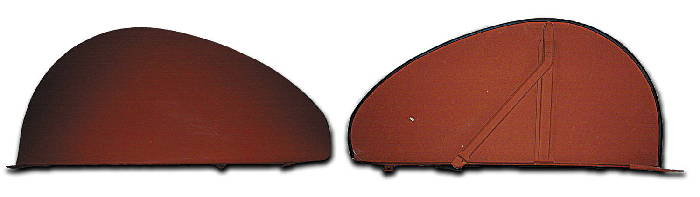 Chevy Parts 187 Fender Skirts Perfect Reproduction 1937 48