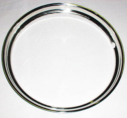 "Chevrolet Parts -  Beauty Ring, Ribbed 15"" (Outer Wheel Trim)"
