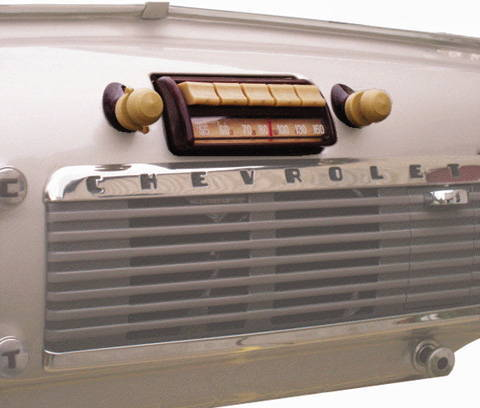 Chevy Parts 187 Radio Am Fm Stereo 47 53 Chevrolet Trucks