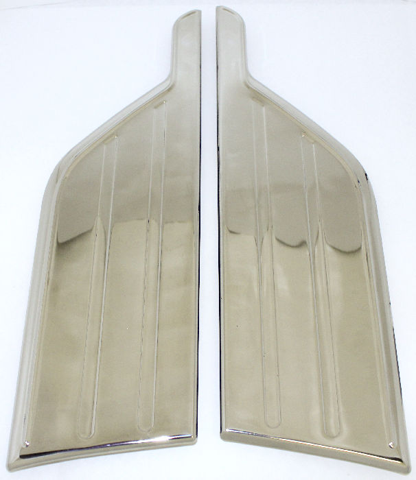Chevrolet Parts -  Gravel Shields -Front Fender Stainless