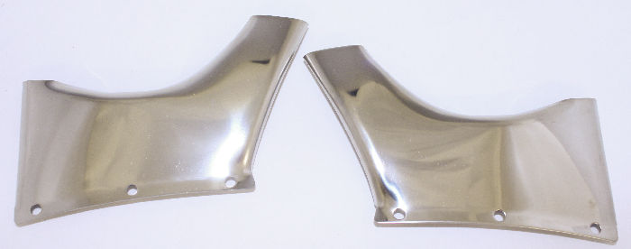 Chevrolet Parts -  Visor Side brackets for #986674, 1953-54 Sedan  -Recommended for replacement style visor, not originals