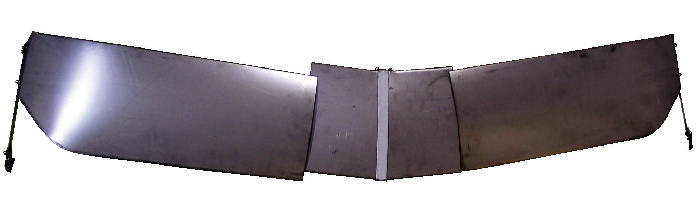 Chevrolet Parts -  Visor -Exterior Windshield. Steel (Accessory)
