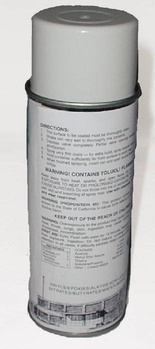 Chevy Parts 187 Paint Engine Grey 16 Oz Spray Cans