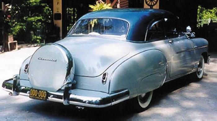 1950 chevy car parts