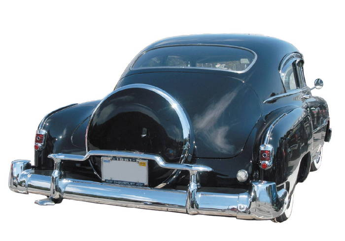 Chevy Parts 187 Bumpers 187 Continental Kit Chevs Of The 40s