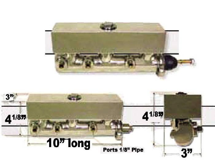 Brake Master Cylinder Electric Boost Frame Mount 10 Photo Main
