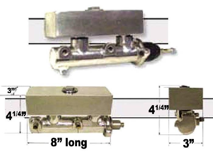 Brake Master Cylinder Electric Boost Frame Mount 8 Photo Main