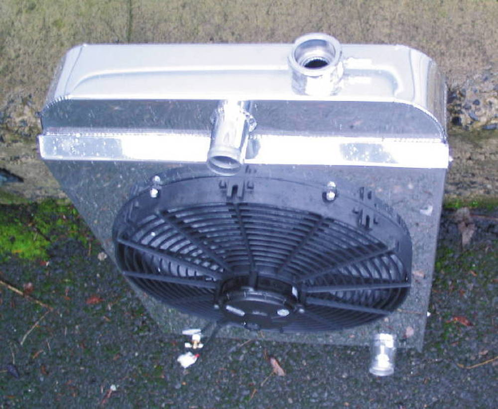 Chevy Parts 187 Cooling Amp Radiator 187 Radiator Chevs Of The 40s