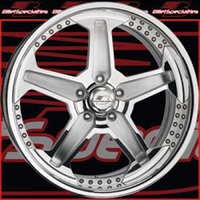 Chevy Parts 187 Wheels Billet Aluminum Pro Touring Series